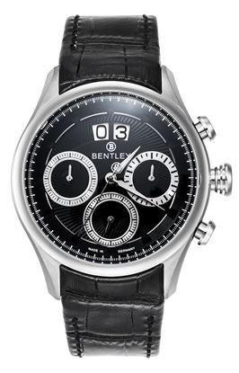 <p>Dòng sản phẩm: Bentley Bourbon</p> <p>Xuất xứ: Đức</p> <p>Chất liệu vỏ: toàn bộ thân vỏ bằng thép không gỉ.</p> <p>Chất liệu dây: Dây da</p> <p>Chất liệu kính: Kính sapphire</p> <p>Kích thước: 43mm</p> <p>Kiểu máy: Miyota6550</p>