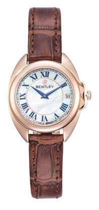 <p>D&ograve;ng sản phẩm: Bentley Lady</p> <p>Xuất xứ: Đức</p> <p>Chất liệu vỏ: to&agrave;n bộ th&acirc;n vỏ bằng th&eacute;p kh&ocirc;ng gỉ.</p> <p>Kiểu d&acirc;y: D&acirc;y da</p> <p>Chất liệu k&iacute;nh: K&iacute;nh sapphire</p> <p>K&iacute;ch thước: 30mm</p> <p>Kiểu m&aacute;y:&nbsp;Miyota-GM15 (tuổi thọ pin 5 năm)</p> <p>Độ chịu nước: 30m</p>