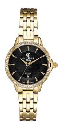 <p>D&ograve;ng sản phẩm: Bentley&nbsp;Aurora&nbsp;</p> <p>Xuất xứ: Đức</p> <p>Chất liệu vỏ: to&agrave;n bộ th&acirc;n vỏ bằng th&eacute;p kh&ocirc;ng gỉ</p> <p>Chất liệu k&iacute;nh: K&iacute;nh sapphire</p> <p>K&iacute;ch thước đồng hồ: 32mm</p> <p>Kiểu m&aacute;y: Quartz</p> <p>Kiểu d&acirc;y: D&acirc;y kim loại&nbsp;th&eacute;p kh&ocirc;ng gỉ</p> <p>K&iacute;ch thước d&acirc;y: 14 x 14 mm&nbsp;</p> <p>Độ chịu nước: 30m</p>