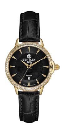 <p>D&ograve;ng sản phẩm: Bentley&nbsp;Aurora&nbsp;</p> <p>Xuất xứ: Đức</p> <p>Chất liệu vỏ: to&agrave;n bộ th&acirc;n vỏ bằng th&eacute;p kh&ocirc;ng gỉ</p> <p>Chất liệu k&iacute;nh: K&iacute;nh sapphire</p> <p>K&iacute;ch thước đồng hồ: 32mm</p> <p>Kiểu m&aacute;y: Quartz</p> <p>Kiểu d&acirc;y: D&acirc;y da</p> <p>K&iacute;ch thước d&acirc;y: 14 x 14 mm&nbsp;</p> <p>Độ chịu nước: 30m</p>
