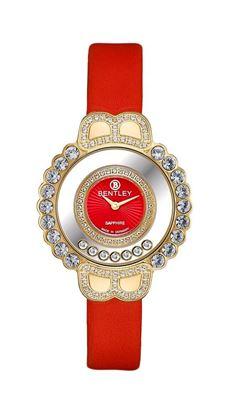 <p>D&ograve;ng sản phẩm: Bentley Dancing Light</p> <p>Xuất xứ: Đức</p> <p>Chất liệu vỏ: to&agrave;n bộ th&acirc;n vỏ bằng th&eacute;p kh&ocirc;ng gỉ</p> <p>Chất liệu k&iacute;nh: K&iacute;nh sapphire</p> <p>K&iacute;ch thước đồng hồ: 33mm</p> <p>Kiểu m&aacute;y: Quartz</p> <p>Kiểu d&acirc;y: D&acirc;y da</p> <p>Độ chịu nước: 30m</p>